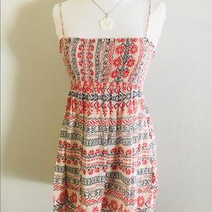 ZARA BASIC Floral Printed Dress Size S